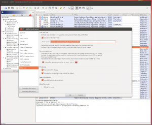 JabRef with GTK look and feel